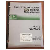 John Deere Parts Catalog for Riding Mowers