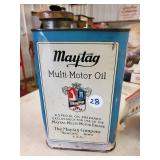 Maytag Multi-Motor Oil, Old New Stock