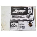Romex wire - 50 ft. 14/2 new in box