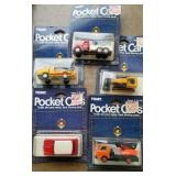 Pocket Cars - new in packages (5 in lot)
