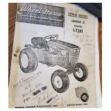 Wheel Horse Owners Manual Charger 12