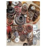 Metal Pulleys - all sizes, all designs
