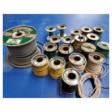 Whitaker wire - many spools,