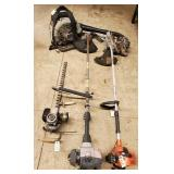 Weed Trimmers, Shoulder harness blower, Auger