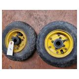 Lawn Tractor Tires (2)  Good Year