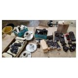 New Old Stock electical supplies - some bakelite