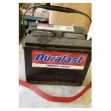 Duralast Battery and cable,  Not new but good