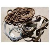 Cable, rope, towing strap