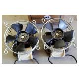 Electric fans for ? fireplace inserts