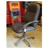 Padded executive office chair - AS IS