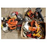 Mower, chain saw, blower plastic parts