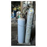 Acetylene Torch Set & Cart