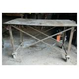Rolling Welding Table or Work Bench