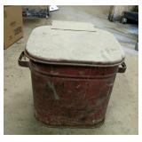 Metal Rag Bucket