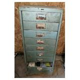 Small Family File Cabinet w/ Electrical