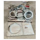 Spouting Flanges & Clamps