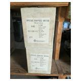 (2) 1/3hp Franklin Electric Motors