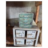 Metal & Wooden Storage Boxes