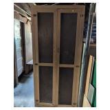 Wooden Double Door Storage Cabinet