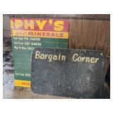 """Masonite """"Bargain Corner"""" & 1/2 Murphy"""