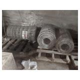 (3) Roll of Vintage Red Brand Woven Wire Fence