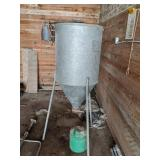 Electric Grass Seed Mixer