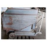 Metal Feed Cart