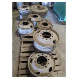 Steel Heavy Truck Rims & Tire