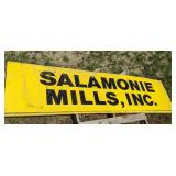 Salamonie Mills Sign