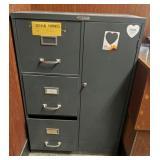 Steelmaster File Cabinet w/ Storage