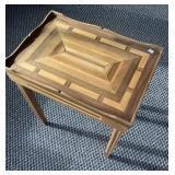 Wood side table,  21