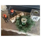 Deer & Wood Tealight Candle holders