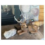 Deer, duck &  rabbit figurines