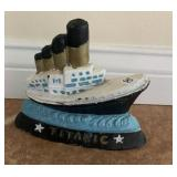 Titanic door stop - Metal