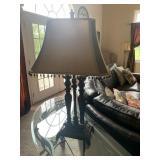Table lamp, 2 light bulbs