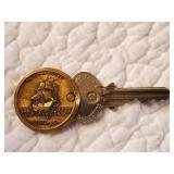 Mayflower Hotel Room Key, Washington