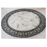 Round area rug, 66 inch diameter