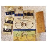 Eye Glasses & parts - New Old Stock