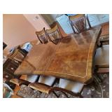 A.R.T. Furniture dining room table and chairs