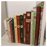 Books, Christmas books & cookbook