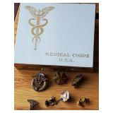 Medical Corp Compact, buttons & pins
