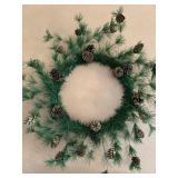 Wreath, bowl, basket