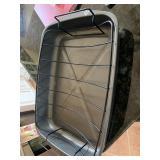 Roasting pan with rack,  no lid
