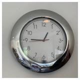 Electric wall clock & duck picture