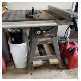 Craftsman table saw WXR-2412