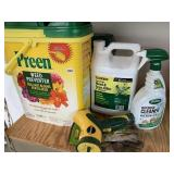 Lawn care chemicals & accessories