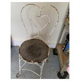 Ice Cream Parlor Chair - as is