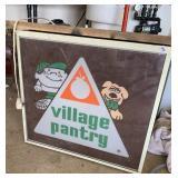 Village Pantry sign