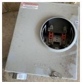 Milbank electrical box