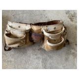 Leather toolbelt